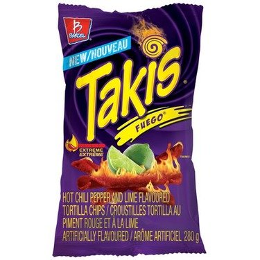 Takis Fuego Hot Chili & Lime Corn Snacks