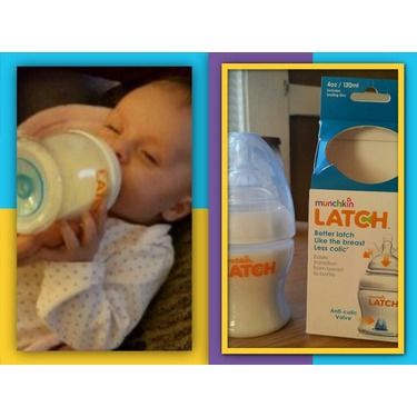 Munchkin latch bottle