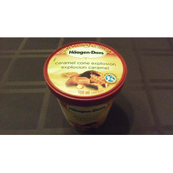 Haagen Dazs Caramel Cone Explosion Ice Cream