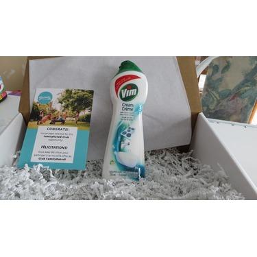 Vim Cream Cleaner in Eucalyptus Scent