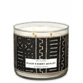 Bath and Body Works 3 Wick Candles Black Cherry Merlot