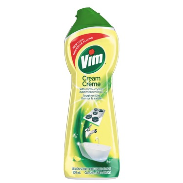 Vim Cream Cleaner in Lemon Scent