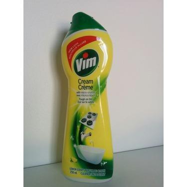 Vim Cream Cleaner in Lemon Scent