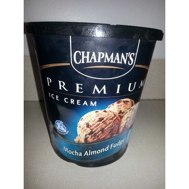 Chapman's Premium Mocha Almond Fudge Icecream