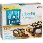 South Beach Living Fiber Fit Bars in S'mores
