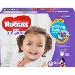 Huggies Little Movers | Size 4