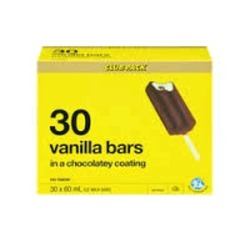 No name vanilla bars