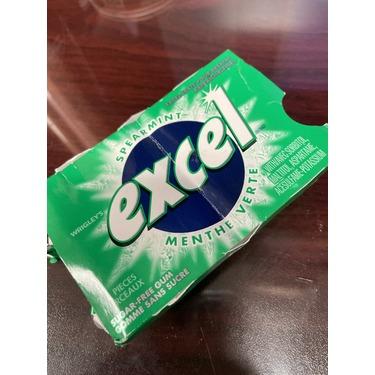 Excel spearmint gum