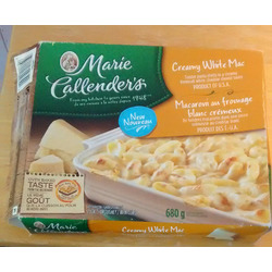 Marie Callender's creamy white mac