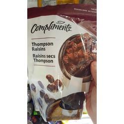 Compliments Thompson Raisins