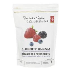 President's Choice Four Berry Frozen Fruit