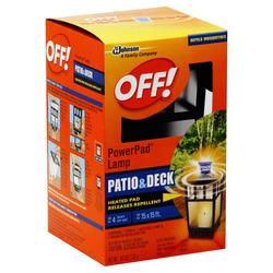 Off! PowerPad Mosquito Repellant Lamp