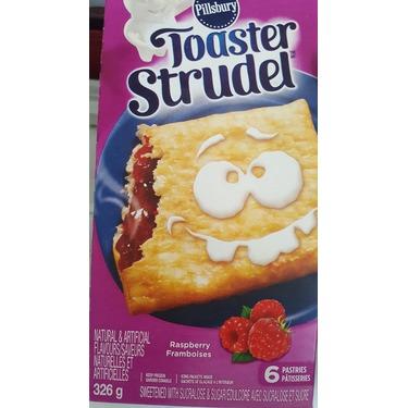 Pillsbury Toaster Strudel Raspberry