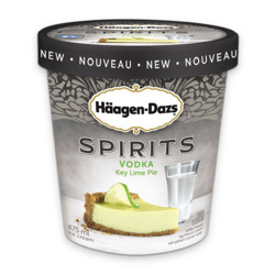 Haagen Dazs Spirits Vodka Key Lime Pie