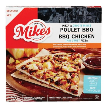 Mike's pizza poulet BBQ croute mince