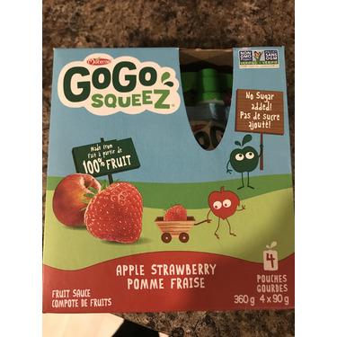 GoGo squeeZ Applesauce On the Go Apple Strawberry