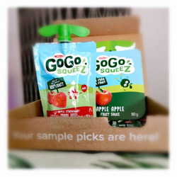 GoGo squeeZ Applesauce On the Go Apple Strawberry