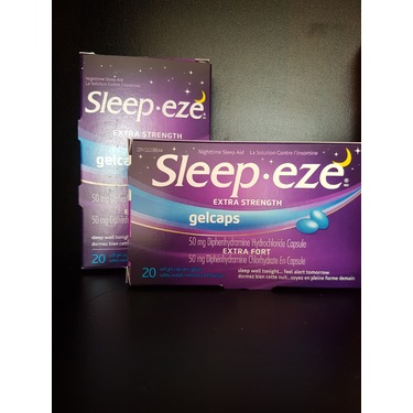 Sleep-eze Extra Strength Gelcaps