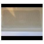 InterDesign Soft Cushion Non-Slip Suction Mat for Shower, Bathtub - Extra Long, White