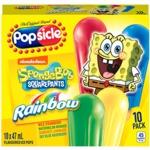 Popsicle SpongeBob Rainbow Pops