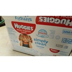 Huggies Whipes Simply Clean