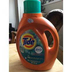 Tide Febreze laundry detergent botanical rain