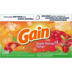 Gain apple mango tango dryer sheets