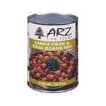 Arz fine foods chick peas and fava beans