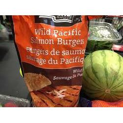 Frozen Salmon Burger