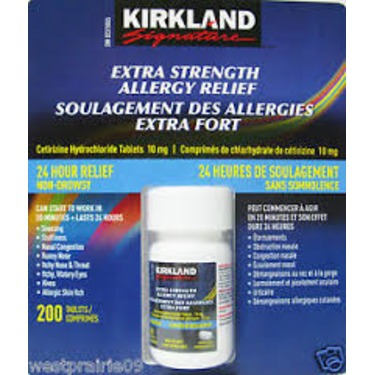 Kirkland Extra Strength Allergy Relief