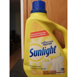 Sunlight Deep Clean Laundry Detergent