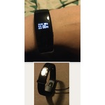 Fitness Tracker,Arespark Smart Bracelet Activity Tracker Heart Rate Monitor Fitness Health Smartwatch Wristband Bluetooth Pedometer with Sleep Monitor/ Step Tracker/ Calorie Counter for Android and iOS smartphones (black)