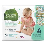 Seventh Generation Free & Clear Diapers (Size 4)