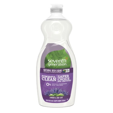 Seventh Generation Dish Liquid - Lavender Flower & Mint Scent