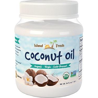 ISLAND FRESH SUPERIOR ORGANIC VIRGIN COCONUT OIL, 54 OZ