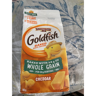 Goldfish Baked Whole Grain Cheddar