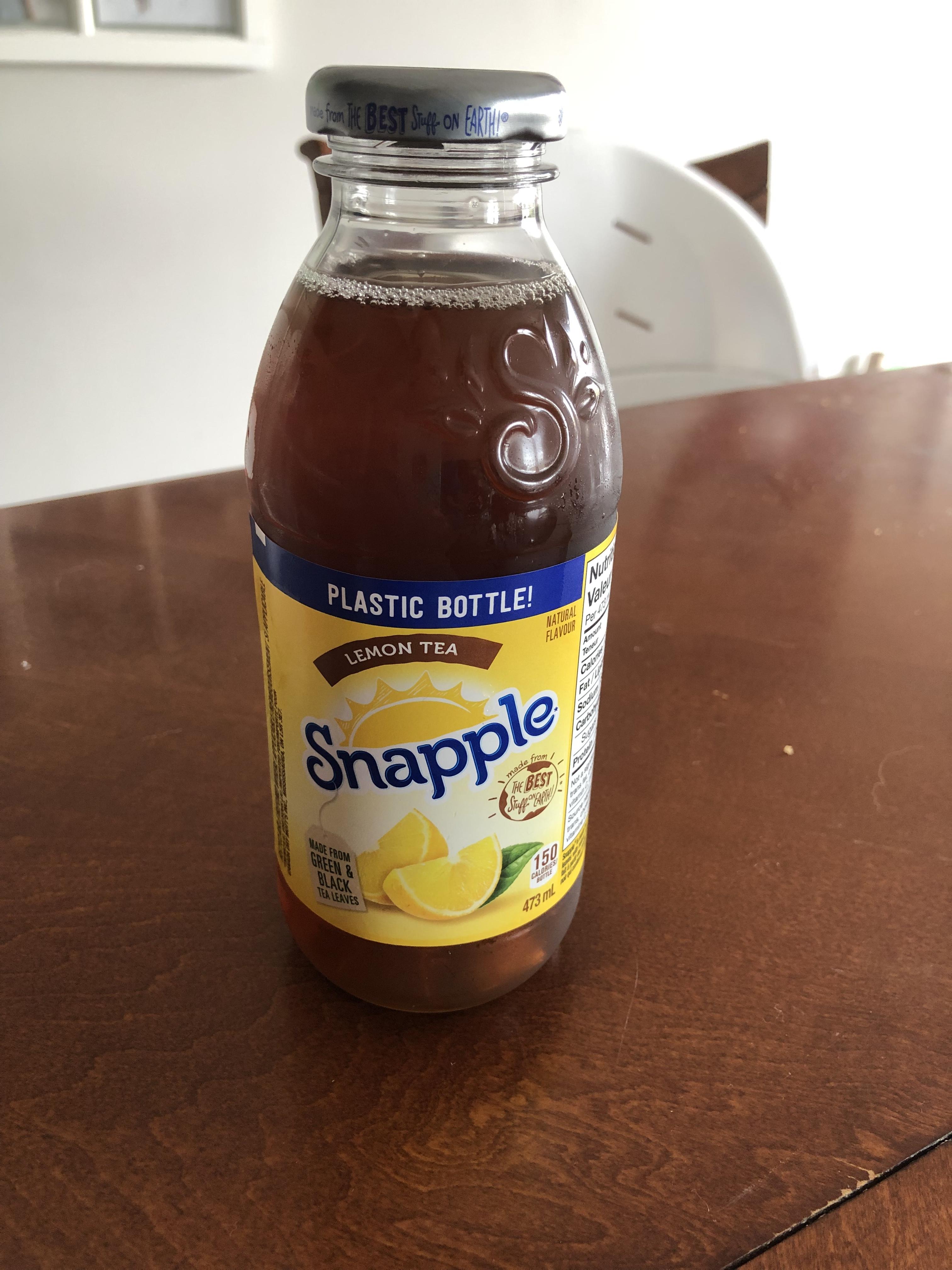 Snapple Lemon Tea reviews in Tea - FamilyRated
