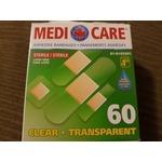 Medi care adhesive bandage clear