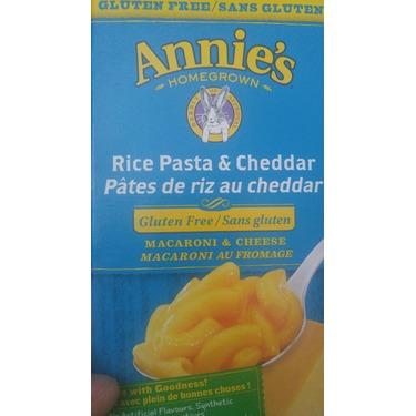 Annie's Gluten Free Rice Pasta & Cheddar Macaroni & Cheese ...