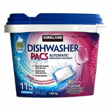 kirkland (costco) dishwasher detergent