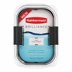 Rubbermaid Brilliance Food Storage Container, Medium