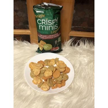 Quaker Veggie Crispy Minis Balsamic & Bruschetta