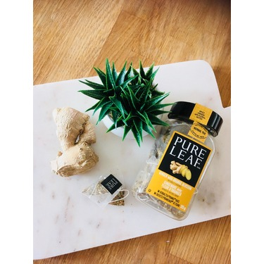 Pure Leaf Ginger with Orange Blossom pyramid tea bags