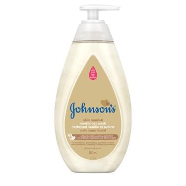 JOHNSON'S® Skin Nourish Vanilla Oat Wash