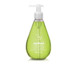 method gel hand wash in lime + sea salt