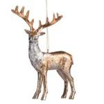 Canvas ombre deer