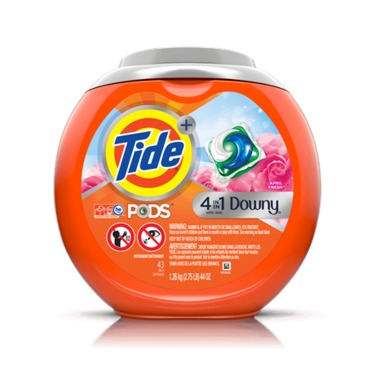 Tide + Downy 4 in 1 Pods