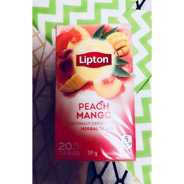 Lipton Peach Mango Herbal Tea