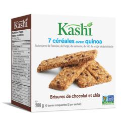 kashi 7 grain with quinoa chocolat chip chia