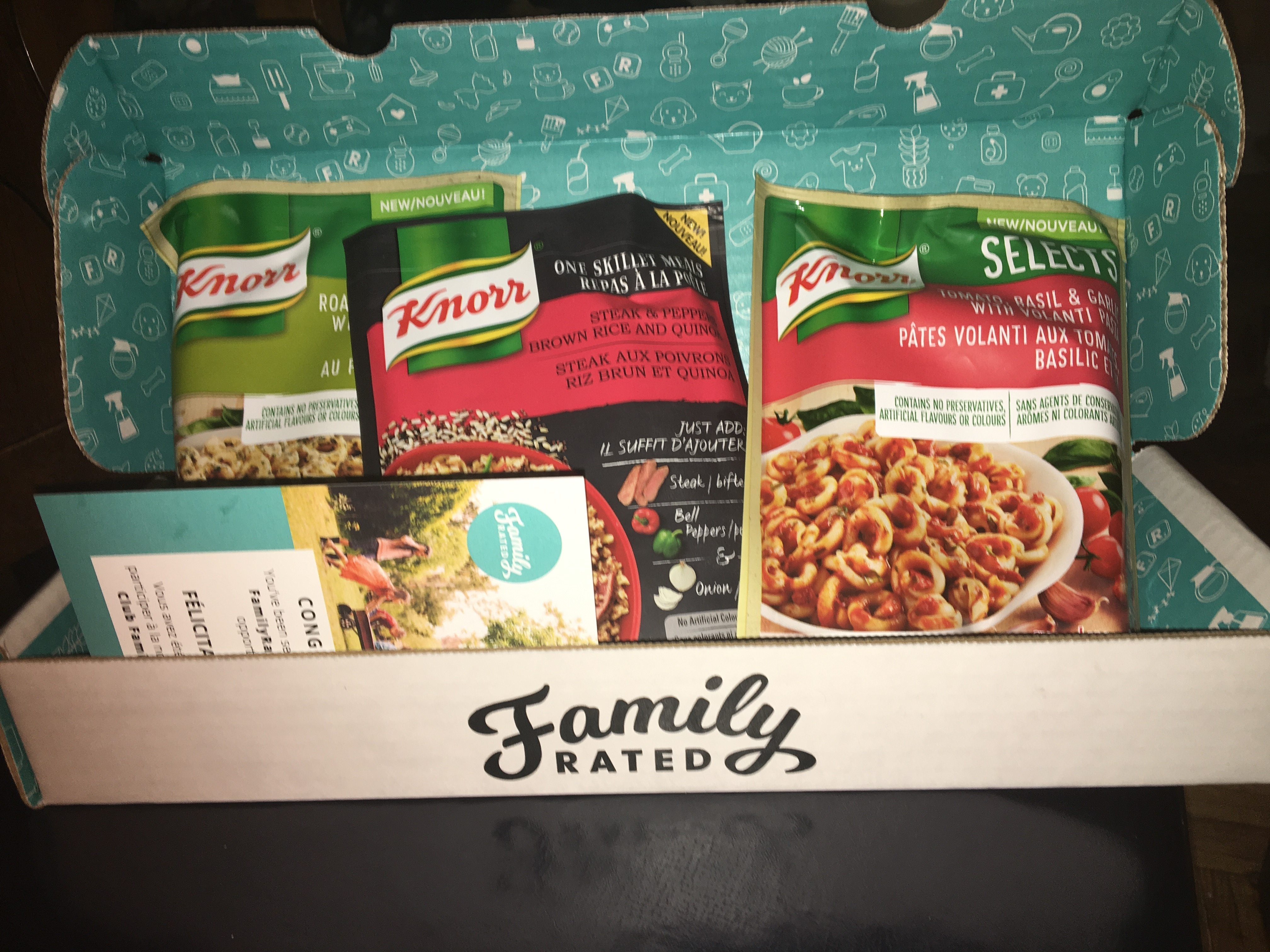Knorr One Skillet Meals in Steak & Peppers Brown Rice and